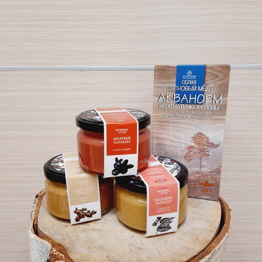 Подарок с вкусным мёдом 🍯🎁