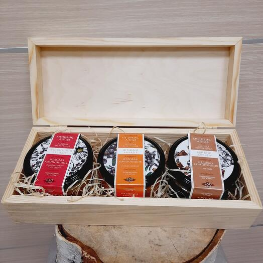 Мед Honey collection in the box