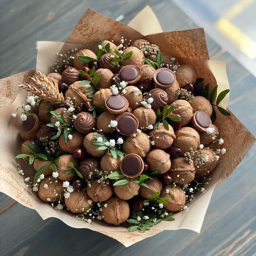 Орехово-шоколадный подарок