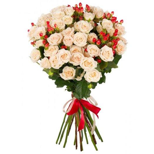 Букет Поцелуй Ангела: букеты цветов на заказ Flowwow