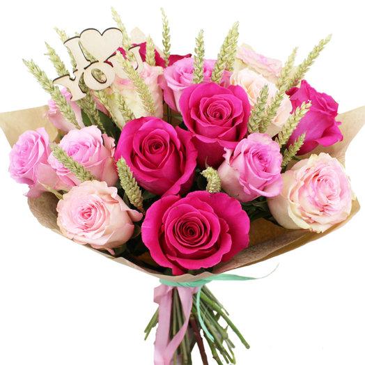 Букет Любовь повсюду: букеты цветов на заказ Flowwow