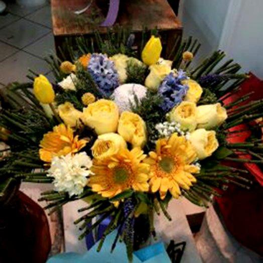 Золото цветов: букеты цветов на заказ Flowwow