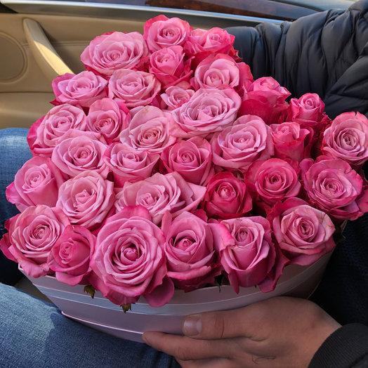 Pink Paris Букет из 33 роз