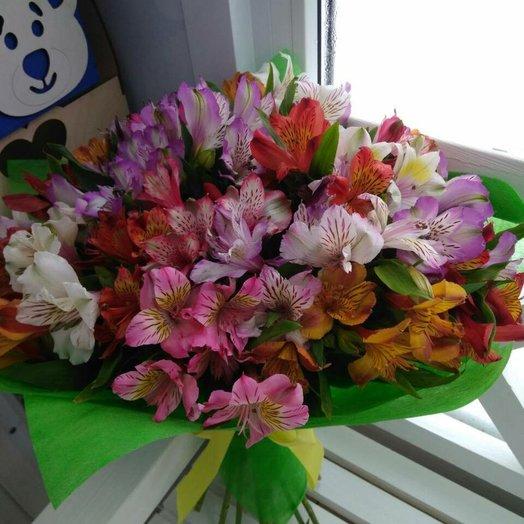 Букет Солнечное звучание: букеты цветов на заказ Flowwow