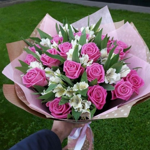 Розовые мечты.: букеты цветов на заказ Flowwow