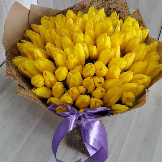 Солнечная весна: букеты цветов на заказ Flowwow