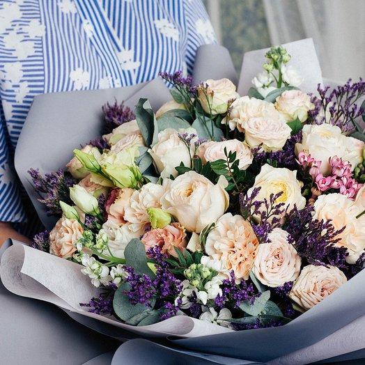 Подарок для души: букеты цветов на заказ Flowwow