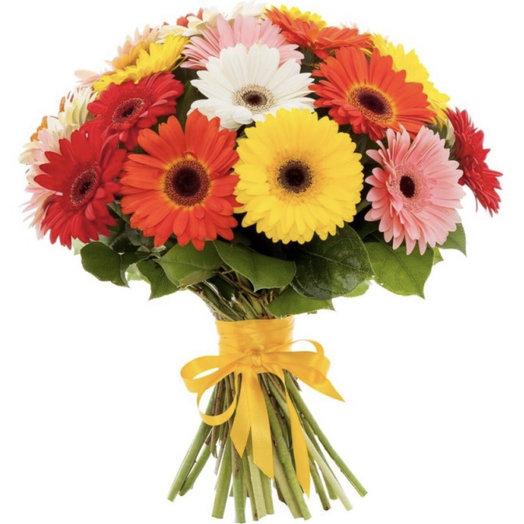 Букет из 23 гербер: букеты цветов на заказ Flowwow