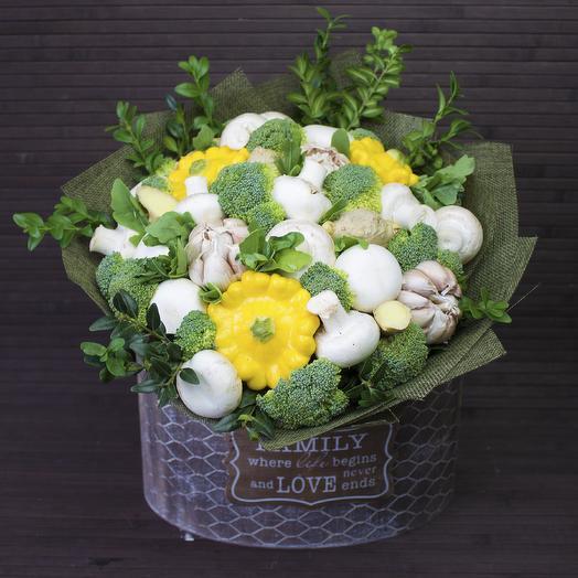Овощной букет 002: букеты цветов на заказ Flowwow