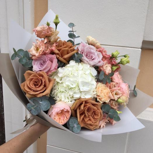 Букет капучино: букеты цветов на заказ Flowwow