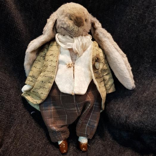 Кролик Тедди: букеты цветов на заказ Flowwow