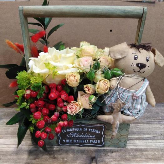 Сюрпайз: букеты цветов на заказ Flowwow