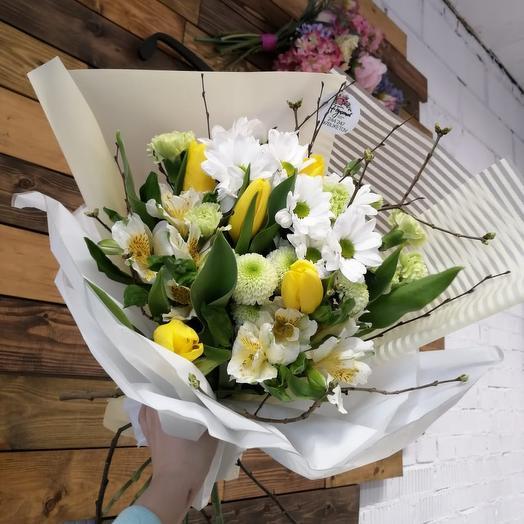 Весенний шарм: букеты цветов на заказ Flowwow