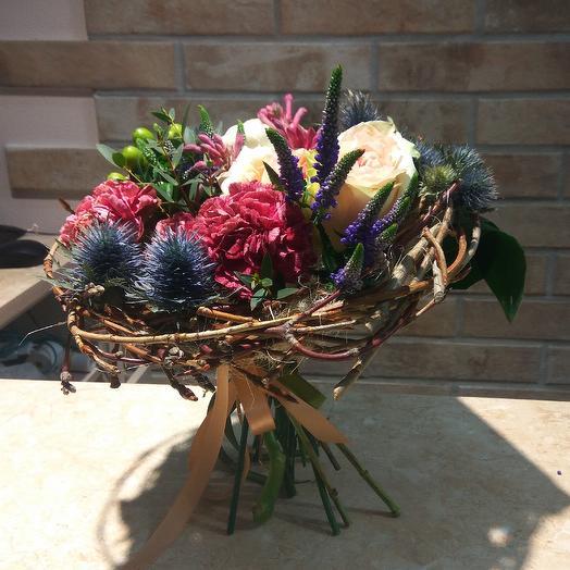 Пролетая над гнездом кукушки: букеты цветов на заказ Flowwow