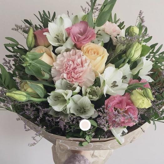 Букетик любимой: букеты цветов на заказ Flowwow
