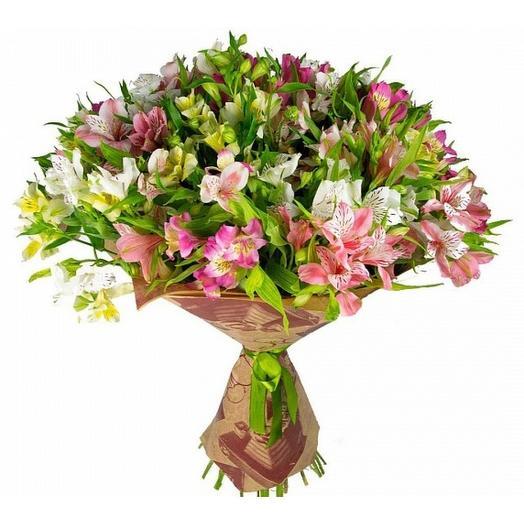 Альстромерия микс: букеты цветов на заказ Flowwow