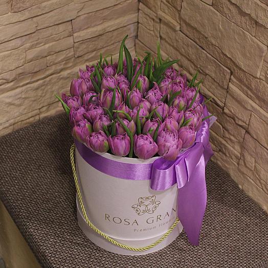 До 49 пионовидных тюльпанов: букеты цветов на заказ Flowwow