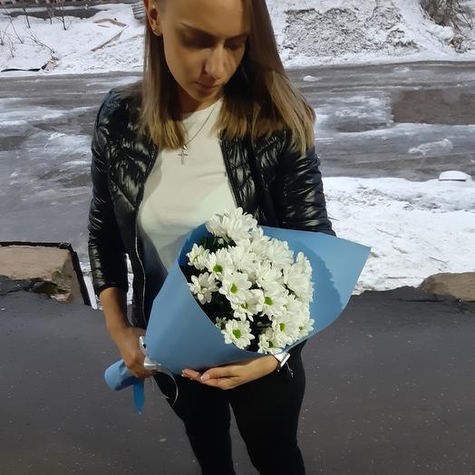 Белые облака Z11: букеты цветов на заказ Flowwow