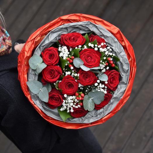 """Букет из роз """"Чайковский"""": букеты цветов на заказ Flowwow"""
