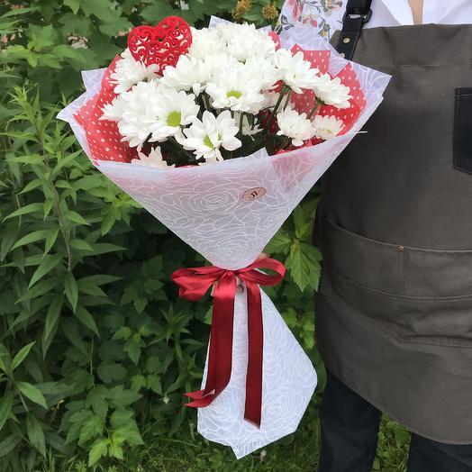Дарю своё сердце: букеты цветов на заказ Flowwow