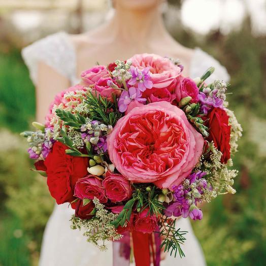 """Букет невесты """"Пионовидный"""": букеты цветов на заказ Flowwow"""