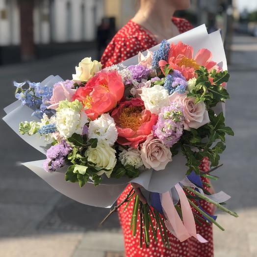 Букет садовый: букеты цветов на заказ Flowwow