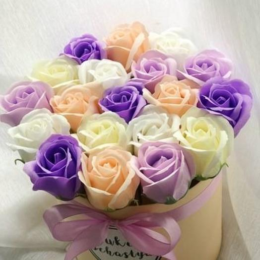 Незнакомка.Роза из мыла: букеты цветов на заказ Flowwow