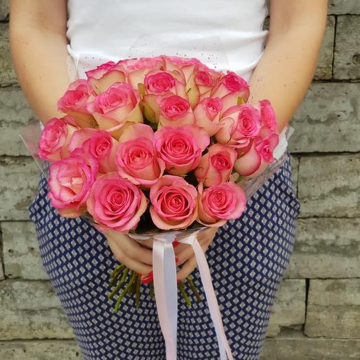 Букет невесты из эквадорских роз: букеты цветов на заказ Flowwow