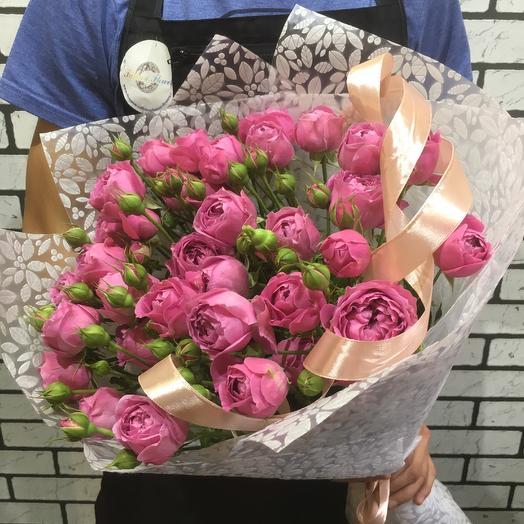 Шикарные пионовидные розы: букеты цветов на заказ Flowwow