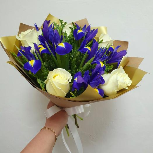 Букет 229: букеты цветов на заказ Flowwow