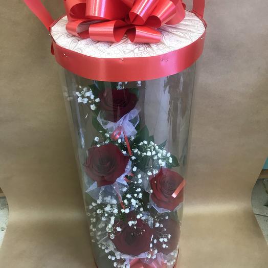 Red dream: букеты цветов на заказ Flowwow