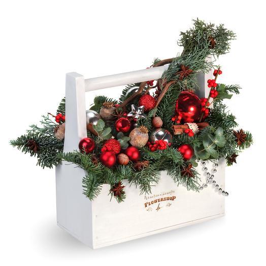 Рождество: букеты цветов на заказ Flowwow