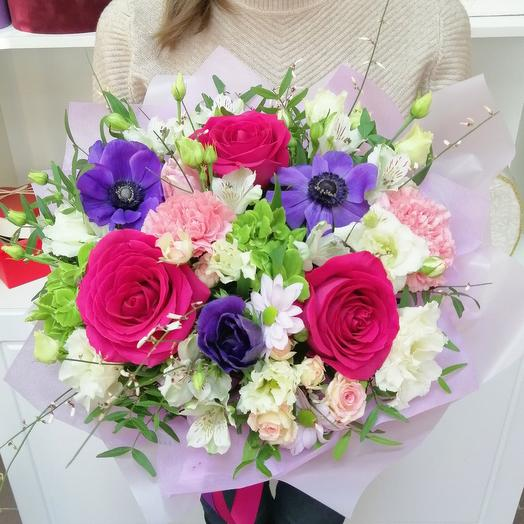 """Композиция """"Краски лета"""": букеты цветов на заказ Flowwow"""