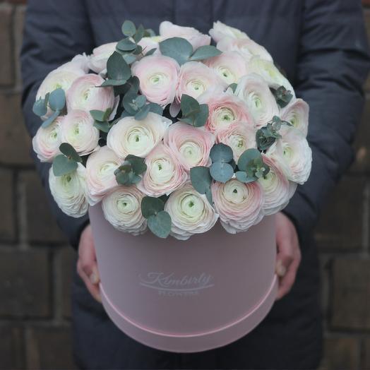 Огромная коробка лютиков: букеты цветов на заказ Flowwow