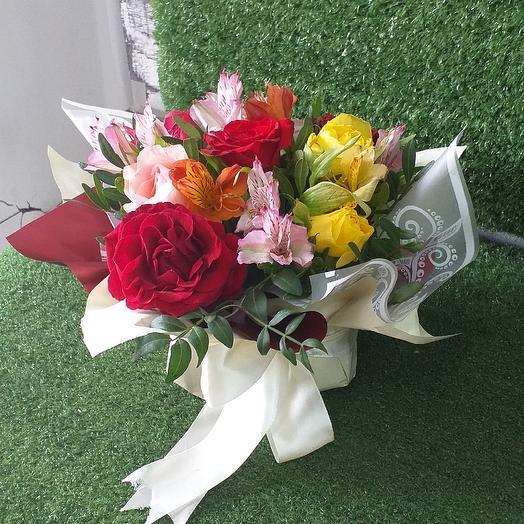 Незнакомка: букеты цветов на заказ Flowwow