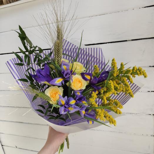 Полевое солнышко: букеты цветов на заказ Flowwow