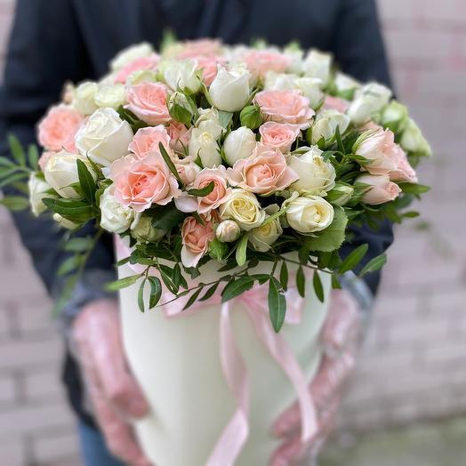 Коробочка  (кустовые розы)