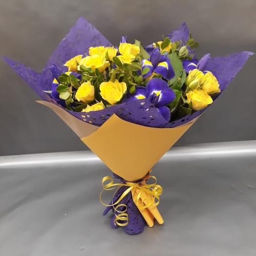 Букет Радость: букеты цветов на заказ Flowwow