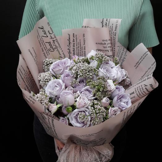 Французские каникулы: букеты цветов на заказ Flowwow