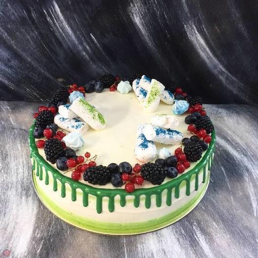 Детский торт с ягодами 1 кг