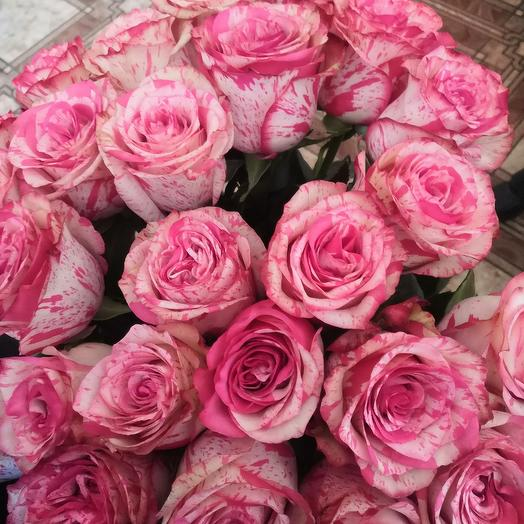 Розы большие 70см 25 роз