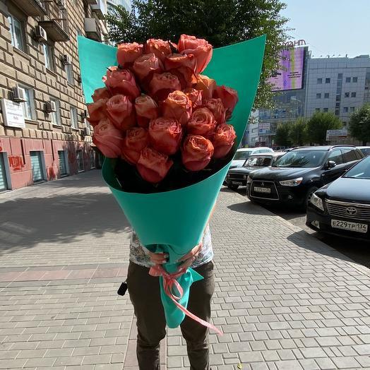 21 Роза 70 см