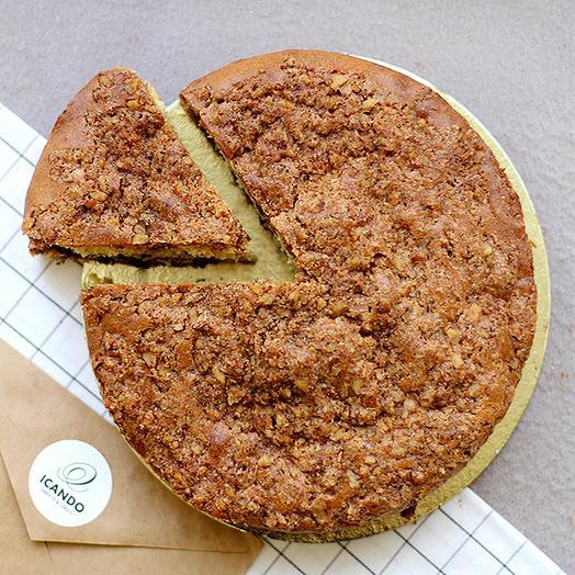 Пирог ореховый