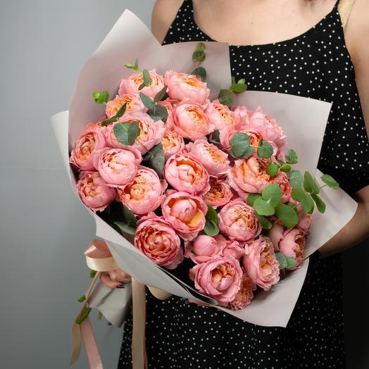 """Букет пионовидных роз """"Juliet"""""""