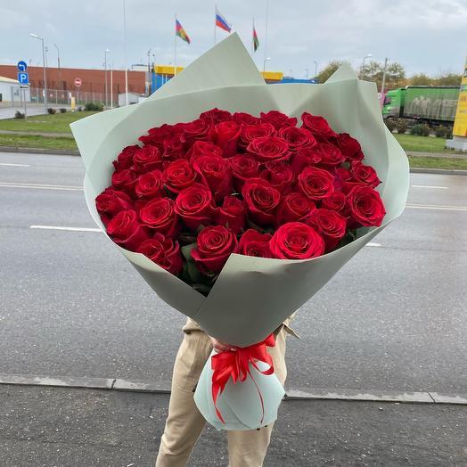 Букет роз « Глубина чувств»