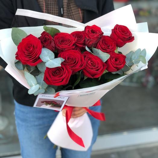 11 шикарных роз