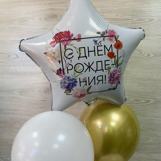 Шары С днём рождения