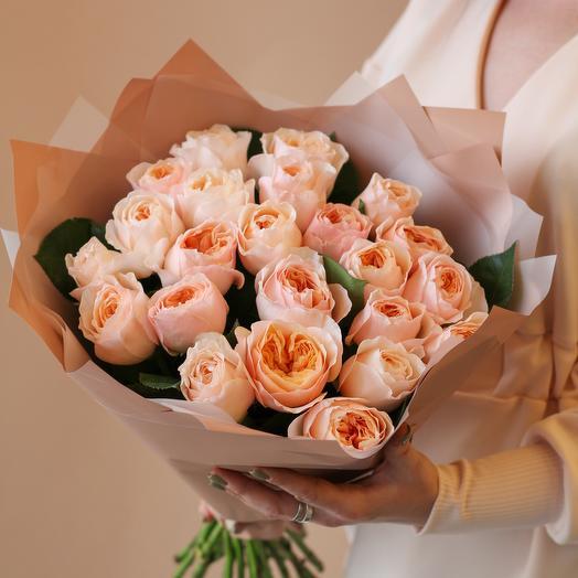 Пионовидные розы Джульетта
