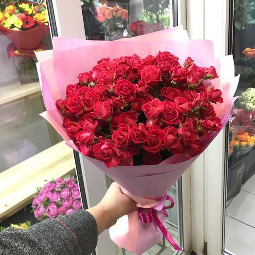 15 кустовых роз