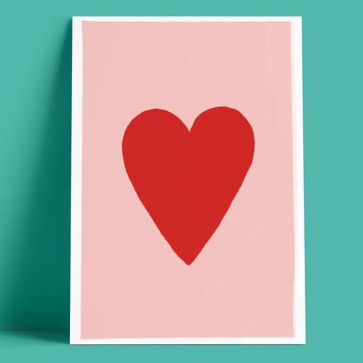 Открытка  «Сердце»